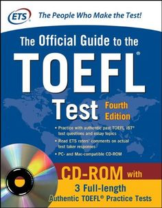 Official Guide to the TOEFL Test With CD-ROM, 4th Edition (Official Guide to the Toefl Ibt)/#Educational Testing Service