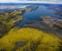 ALLPE Medio Ambiente Blog Medioambiente.org : Los mágicos paisajes volcánicos de Islandia, según Andre Ermolaev