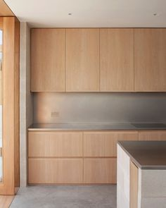 Private house, Peckham, London by Al-Jawad Pike Architects House, Interior, Kitchen Remodel, House Interior, Kitchen Dining Room, Narrow Kitchen, Modern Kitchen Design, Narrow Kitchen Extension, Kitchen Design