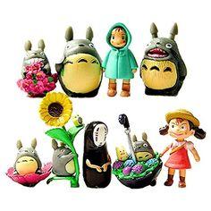 My Neighbor Totoro Figure Hayao Miyazakiponyo Spirited Away Anime Models By Win8fong Want