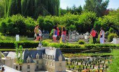 Parc des mini-châteaux - Amboise, Touraine.