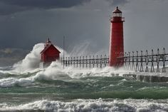 Grand Haven lighthouse - Michigan