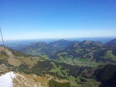 Blick ins Tal #Allgaeu #Alpen #Bayern