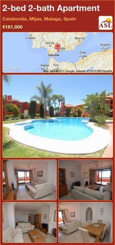 2-bed 2-bath Apartment in Calahonda, Mijas, Malaga, Spain ►€181,000 #PropertyForSaleInSpain