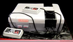 Nintendo groom's cake, this could be pretty perfect for Joshua.