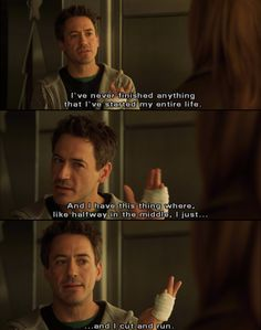Kiss Kiss Bang Bang quote - yup!