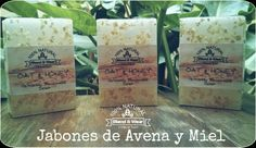 Jabón de Avena y Miel -Blend & Wear- Coffee, Drinks, Food, Oatmeal Soap, Glycerin Soap, Honey, Soaps, Kaffee, Drinking
