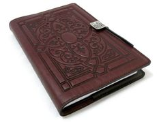 Florentine Embossed Leather Writing Journal, Wine Color, 6 x Refillable Hardbound Insert Book >>> Continue with the details at the image link. Blank Journal, Journal Covers, Blank Book, Meal Deal, Leather Journal, Book Making, Leather Cover, Easy Crafts, Packaging
