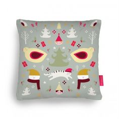 Christmas is here! Cushion by Lydia Coventry