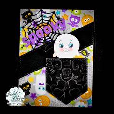 Spooky Halloween Card! Ok, maybe it's actually not so spooky! Lol!