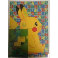 Pokemon Center 2013 Poke Tail Campaign Pikachu A4 Size Clear File Folder