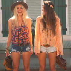 O Boho Chic é um estilo inspirado no visual hippie