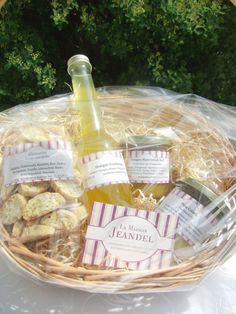 La Maison Jeandel  Geschenk-Körbe - Kulinarische Köstlichkeiten Hochzeit, Gastgeschenk