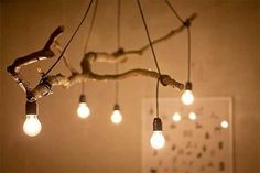 30 Creative DIY Ideas For Rustic Tree Branch Chandeliers | WooHome
