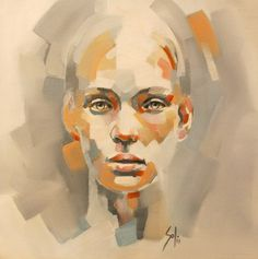 """Saatchi Online Artist Solly Smook; Painting, """"untitled F - SOLD"""" #art"""