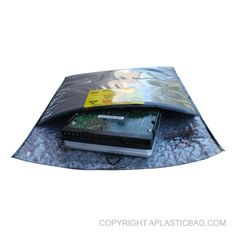 #Conductive Three Layer Tuck #FlapPouch - Three layer #carbonbased #filmcushion #pouch provides faraday cage and Anti-Static protection. An extra layer of E.S.D film provides a puncture resistant interior layer. Available with optional tape or velcro closure. #antistatic #bubblebag #recloseable #barrier #conductive #antistaticpolybags