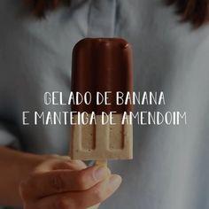 """145 Gostos, 11 Comentários - Vânia Ribeiro (@madebychoices) no Instagram: """"Gulos@s esta é para vocês (eu incluída).. gelado de banana e manteiga de amendoim com cobertura de…"""""""