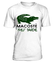 """# Macoste """"Mu"""" Tarde .  ¡¡NO SE VENDE EN TIENDAS¡¡ Campaña por tiempo limitado Disponible en varios modelos,tallas y colores Pulsa aquí para ver todas las camisetas encampañas Todos los productos en:www.camisetalandia.es   SUGERENCIAS:COMPARTE con tus amigos, pedid juntos y ahorra en el envío"""