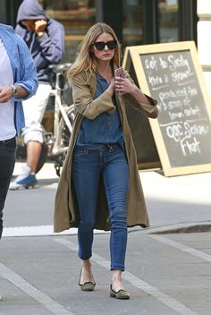 Olivia Palermo and husband out in New York City