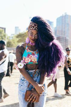 Afropunk 2016 Street Style Makes Other Music Festivals Look Lazy Photos Festival Outfits, Festival Fashion, Black Girl Magic, Black Girls, Afropunk 2016, African Street Style, Divas, Afro Punk Fashion, High Fashion