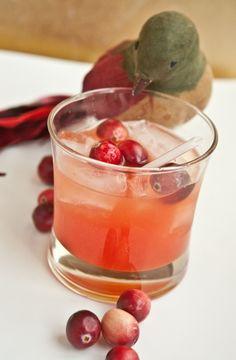 Gin and Sin Cocktail: 1 1/2 oz gin, 1 oz orange juice, 1 oz lemon juice, 1/2 tsp grenadine syrup