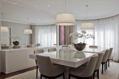 Construindo Minha Casa Clean: 21 Salas de Jantar dos Sonhos com Buffet ou Aparador!!!