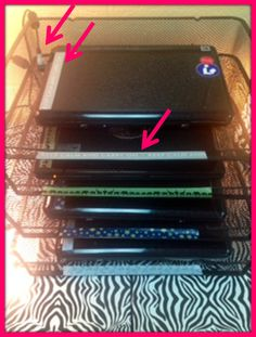 Monday Made It!: Laptop charging station