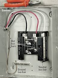 Image Result For Adding A Ground Bar To Sub Panel Home Electrical Wiring Diy Electrical Electrical Wiring