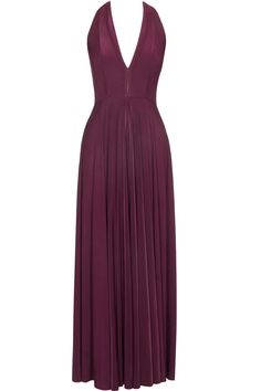 Wine pleated bodice bias gown available only at Pernia's Pop Up Shop.#perniaspopupshop #shopnow #happyshopping #designer #newcollection #bhaavyabhatnagar #clothing