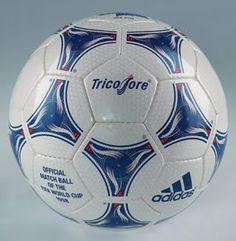 Balón oficial del Mundial de Francia de 1998 Balones Adidas bce1508c8ff67