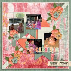 Kit: Pixelily Designs - Carnival Ride Template: Pixelily Designs - Blissful Day TP4