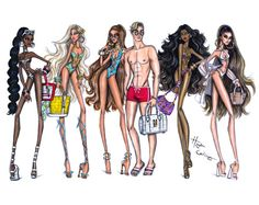 Summer 2016 by Hayden Williams - Sizzlin Stripes, Beach Baby, Cool for the Summer, Bronze Beauty & Skin is In