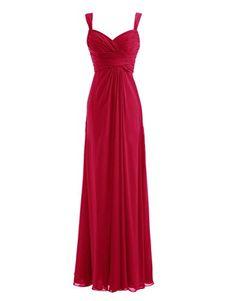 Diyouth Long Spaghetti Straps Bridesmaid Dresses Sweetheart Formal Prom Gowns Dark Red Size 4 Diyouth http://www.amazon.com/dp/B00LQMSCQK/ref=cm_sw_r_pi_dp_VVaqvb06NBW6B