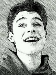 Image result for shawn mendes drawing cartoon