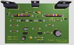 Power Amplifier 1000W Circuit Diagram