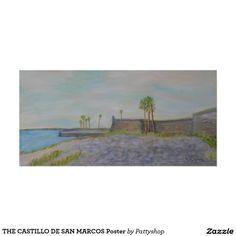 THE CASTILLO DE SAN MARCOS Poster