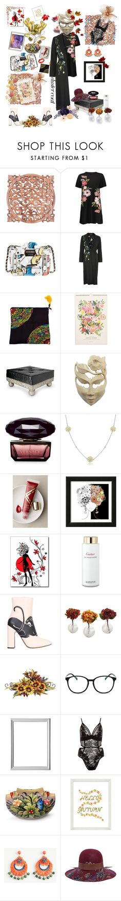 """🍂🍂🍁🍂🍂🍂🍁Welcome September 🍂🍂🍂🍂🍂🍁"" by maijah ❤ liked on Polyvore featuring NOVICA, Moschino, Topshop, Rifle Paper Co, Versace, Bling Jewelry, Albeit, Cartier, Valentino and Nearly Natural"