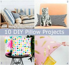 #10 DIY Pillow Projects | DIY Comfy Home