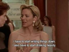 "On personal goals: | The 21 Best Things Samantha Jones Ever Said On ""Sex And The City"""