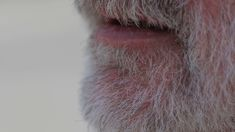 Close up of an older man with a white beard smoking a cigar and blowing smoke fr  Clip #89133247 | 1000  Modern