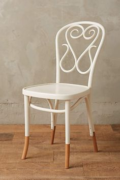Scrolled Bentwood Dining Chair, Swan - anthropologie.com #anthrofave