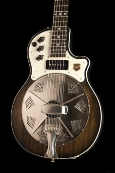 I'm a sucker for National guitars. This looks like it fell off the Mir Space Station, and I'd still love to plug it in. Resolectric Revolver  #cool   |  www.errico.com