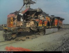BNSF Train Wrecks | BNSF Train Wreck June 2006 - 01