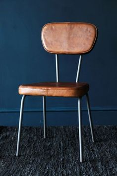 The Stockard Leather Dining Chair