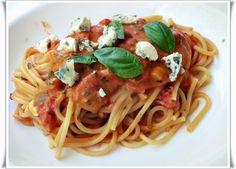 VillaNanna: Tomaattikeitosta pastakastikkeeksi