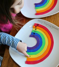 Still Playing School: Rainbow Name Puzzles for Kids
