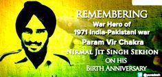 Remembering War Hero Of 1971 #India-#Pakistan war Param Vir Chakra Nirmal JIt Singh Sekhon ...!!!https://www.ncaacademy.com/war-hero-of-9171-param-vir-chakra-nirmal-jit-singh-sekhon/