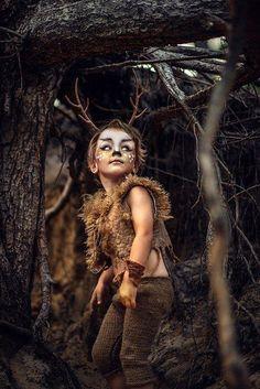 Posted by: Yana Sergeenkova Diy Halloween Costumes, Halloween 2019, Halloween Make Up, Halloween College, Deer Costume, Boy Unicorn Costume, Cowgirl Costume, Peter Pan Kostüm, Deer Makeup