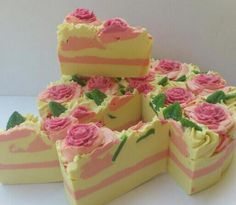 LE FLORISTE SOAP CAKE your soap is the best Shaz x