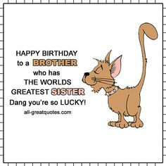 Funny Birthday images for Brother Funny Stuff Happy